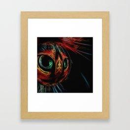 Crystal Ball Cat Framed Art Print