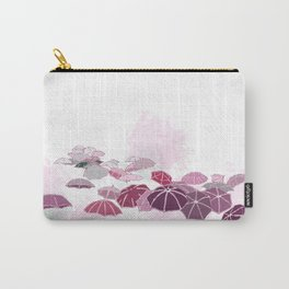 Rainy day in pink Carry-All Pouch