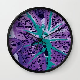 Painted Ears - The Garden Series Wall Clock