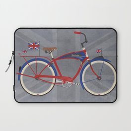 British Bicycle Laptop Sleeve