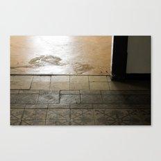 LOST PLACES - olden forsaken tiles Canvas Print