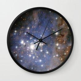 Star Cluster Trumpler 14 Wall Clock