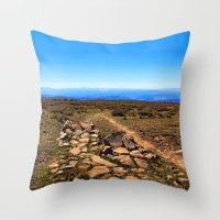 utah Throw Pillows featuring Utah by Chris Root