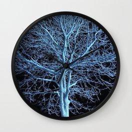 Illuminated Tree Wall Clock