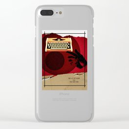 Fewer Words Clear iPhone Case