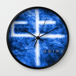 Abide Blue Wall Clock