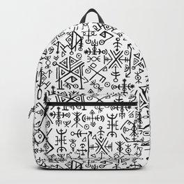 Viking Pattern | Warrior Valknut Norse Mythology Backpack