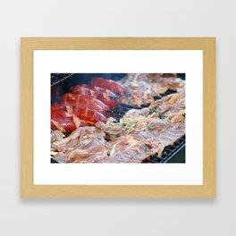 Sizzle Framed Art Print