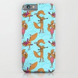 Figure Skating Squirrels iPhone Case