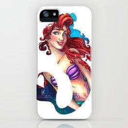Mermaid Silhouette  iPhone Case