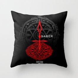 Fate/Zero Saber Throw Pillow