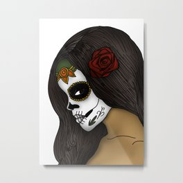 The Day Of The Dead Girl Metal Print