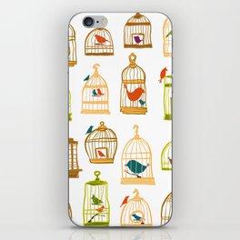 Bird Cages iPhone Skin