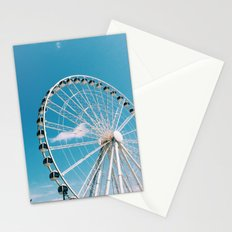 White Wheel Stationery Cards