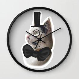 Nala the gentlaman Wall Clock