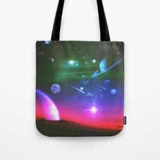 Cosmic Network Tote Bag