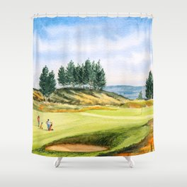 Gleneagles Kings Golf Course Scotland Shower Curtain