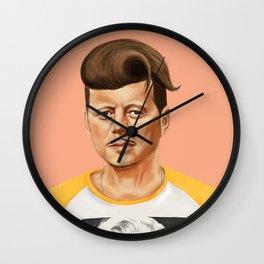 Hipstory -  John F Kennedyn Wall Clock