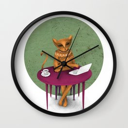 busy pretending Wall Clock