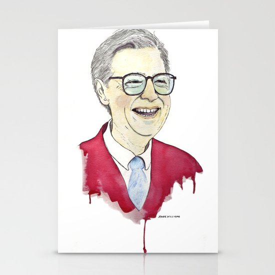 MR. Rogers Stationery Cards