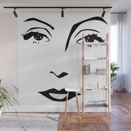 Old Hollywood - Greta Garbo Wall Mural