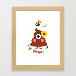 Popi Framed Art Print