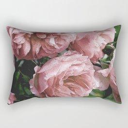 Pale pink Rose Sandi Rectangular Pillow