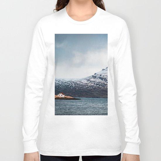 Alone House Mountain Long Sleeve T-shirt