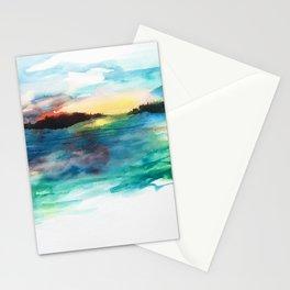 Morning Has Broken #watercolor #dawn #buyart Stationery Cards