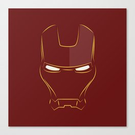 iron man face Canvas Print