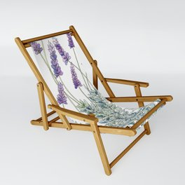 Lavender, Illustration Sling Chair