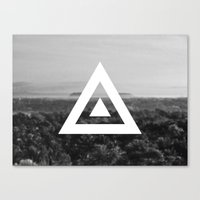 neverland Canvas Prints featuring Neverland by Canoe Point Designs