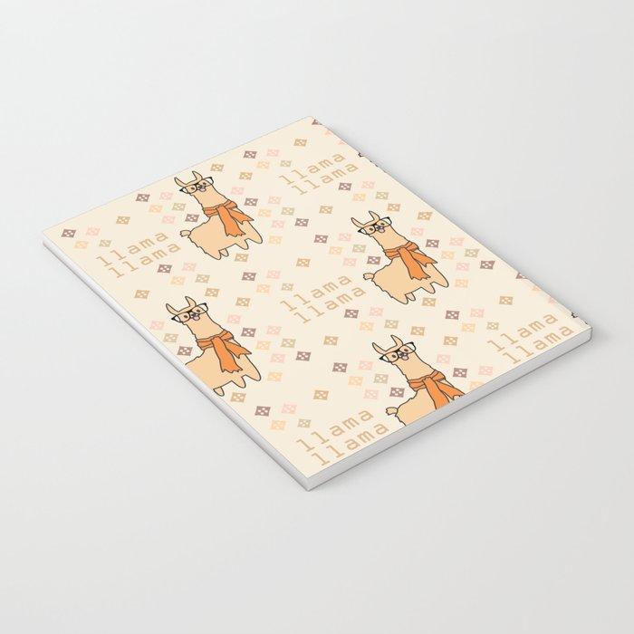 Llama Llama Pattern Notebook