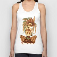 pirate Tank Tops featuring Pirate by Fabio Mancini