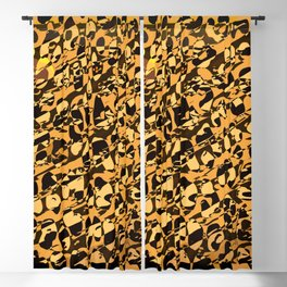 Wild Animal Print ABS Blackout Curtain