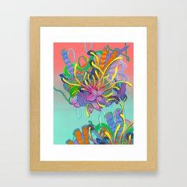 Alien Organisms 17 Framed Art Print