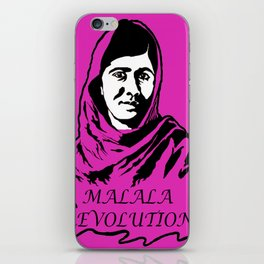 Malala Revolution iPhone Skin