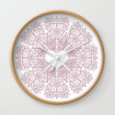 Love Lace Wall Clock