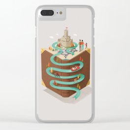 Traveling Clear iPhone Case