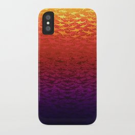 Sharks At Sunset iPhone Case