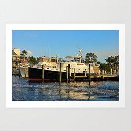Shoreline in Fort Myers IV Art Print