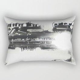Death Drives Here Rectangular Pillow