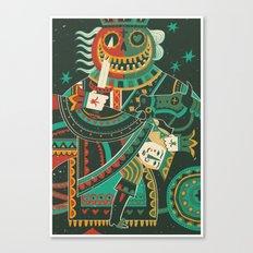 Jack of Hearts Canvas Print