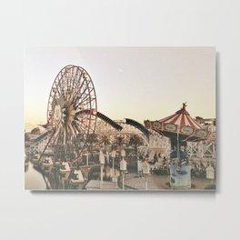 Mickey Wheel Metal Print