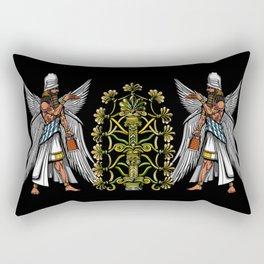 Anunnaki Aliens Gods Ancient Sumerian Conspiracy Rectangular Pillow