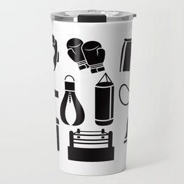 All The Things You Need To Become A Great Boxer Travel Mug