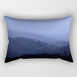 Blue Ridge Mtns Rectangular Pillow
