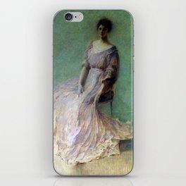 Thomas Wilmer Dewing Lilac Dress iPhone Skin