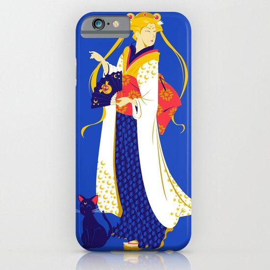 Geisha Moon iPhone & iPod Case