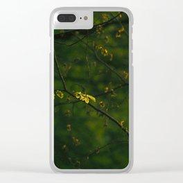 Beautiful Green Clear iPhone Case